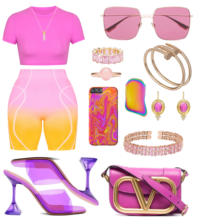 Confy Look💗💛🧡
