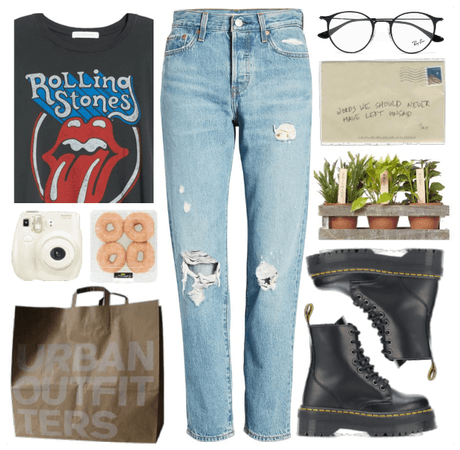 #20 Feeling casual and listening rock music