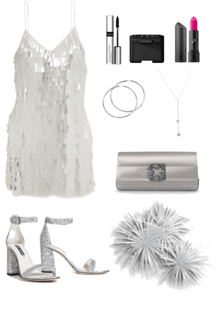 Silver Sparkle New Years Fashion