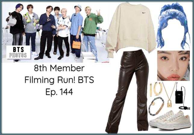 8th Member of BTS Filming Run! BTS Ep. 144