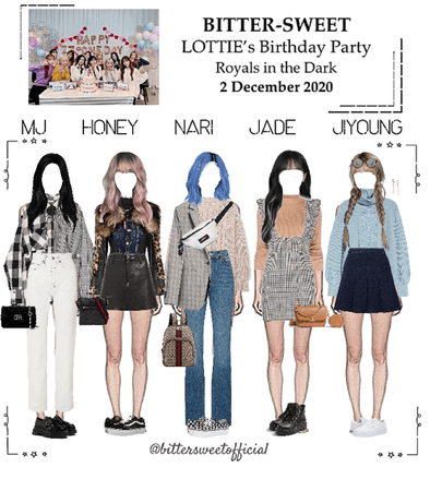 BITTER-SWEET [비터스윗] Lottie's Birthday Party 201202