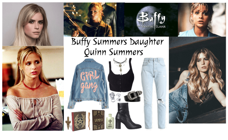 Daughter of Buffy Summers: Quinn Summers