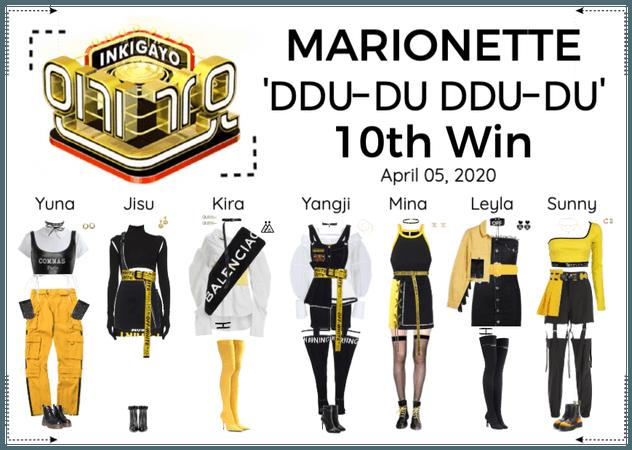 MARIONETTE (마리오네트) [INKIGAYO] 'DDU-DU DDU-DU'