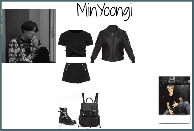 Min Yoongi inspired