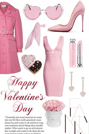 Valentine's Day Date: Retro Pink