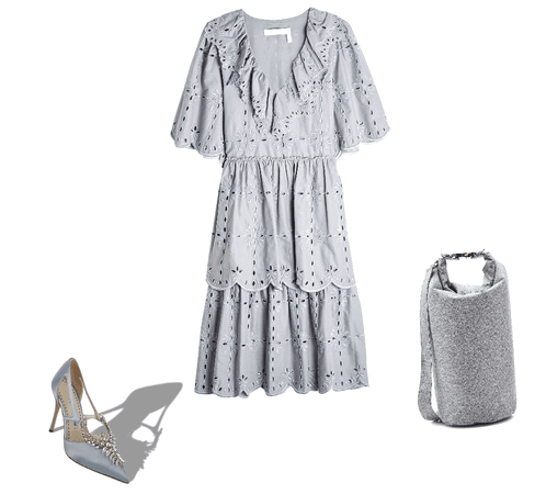 Grey and jewels