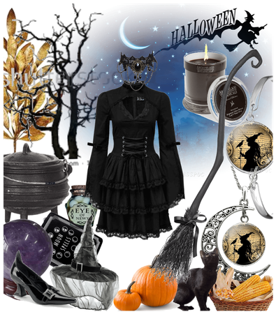 # Halloween costume Diy # Witch costume Diy # Shop