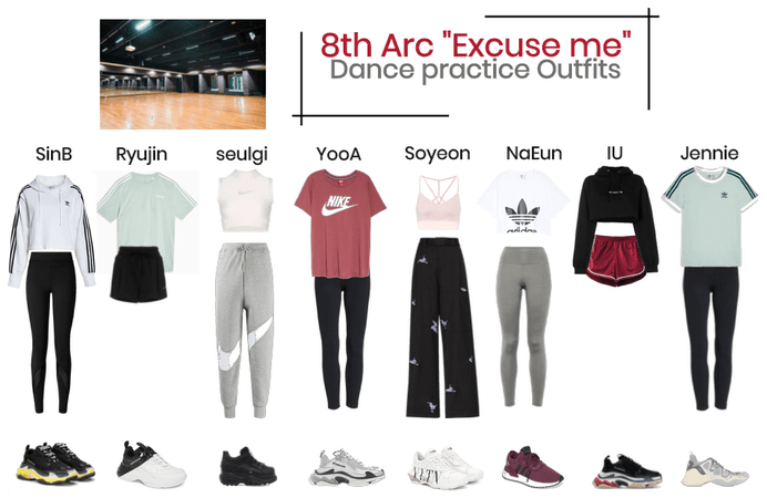"#8thArc ""excuse me"" dance practice"