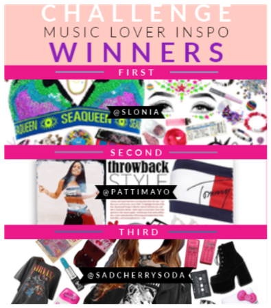 Music Lover Inspo Winners