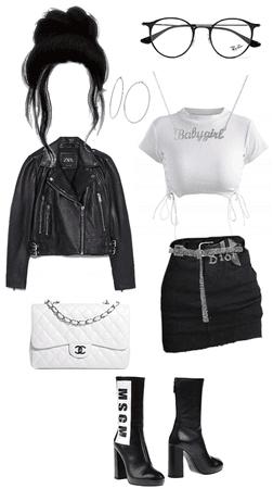 black and whiten