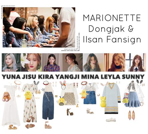 {MARIONETTE} Dongjak & Ilsan Fansign