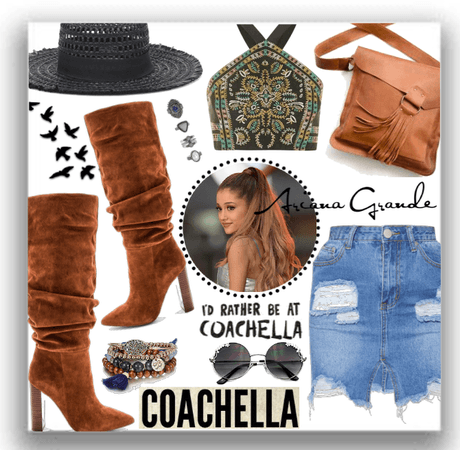 Ariana Grande at Coachella