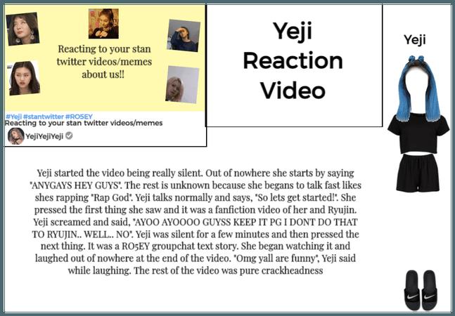 Yeji reaction video