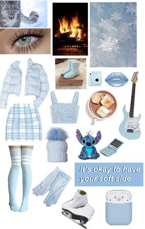 winter baby blue