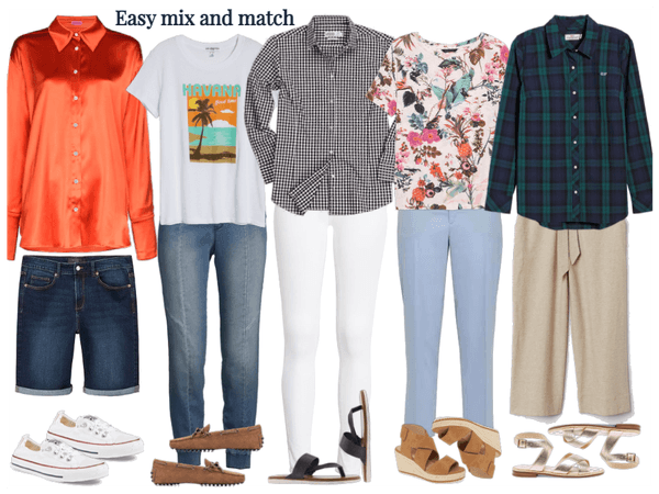 Easy mix and match-casual
