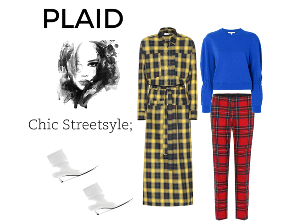 Winter Plaid in the city