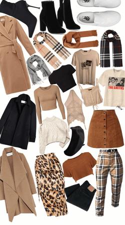 dream closet- wooden coat overload