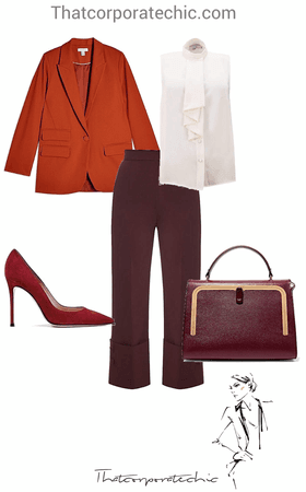 Fall workwear// Business casual