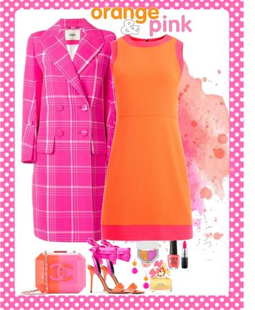 Orange & Pink Challenge