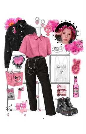 pink feminist
