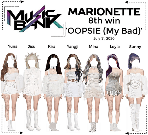 MARIONETTE (마리오네트) [MUSIC BANK] 'OOPSIE (My Bad)' | 8th Win