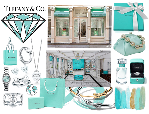 Tiffany and co.  favourite store.