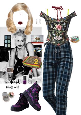 Gwen Stefani No Doubt 1990's