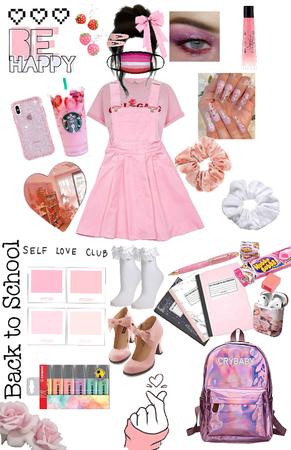 girly girl - back to school