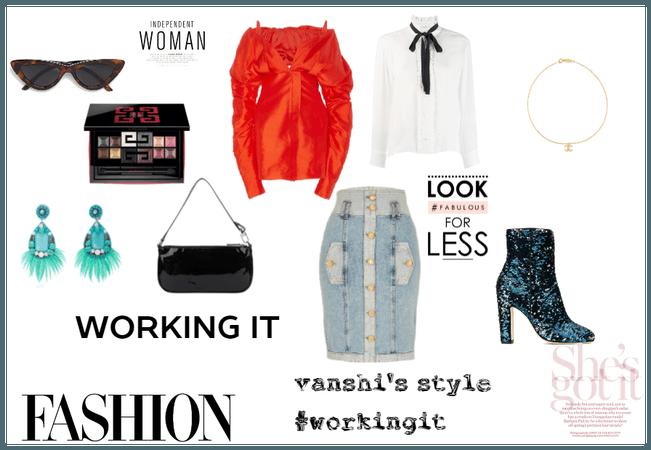 vanshi's fashion style