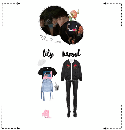 〖Lily&Hansol〗  Night Out!