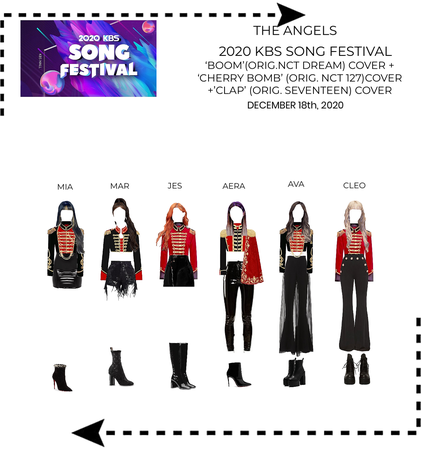 THE ANGELS KBS 2020 SONG FESTIVAL