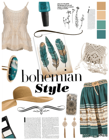 Bohemian Style/summer hat