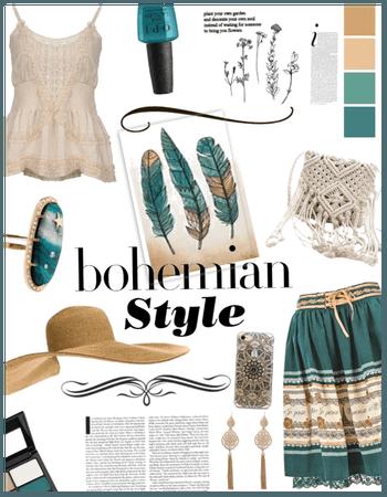 Bohemian Style/summer hat