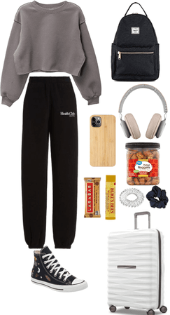 plane ride outfit