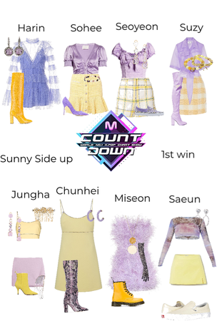 Sunny Side Up 1st win MCountdown