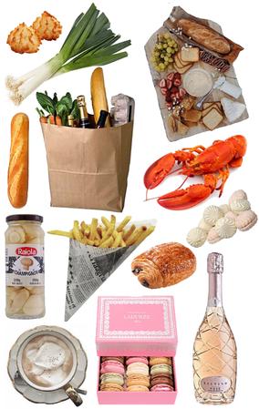 what I ate in Paris 🎻🎠⛲️