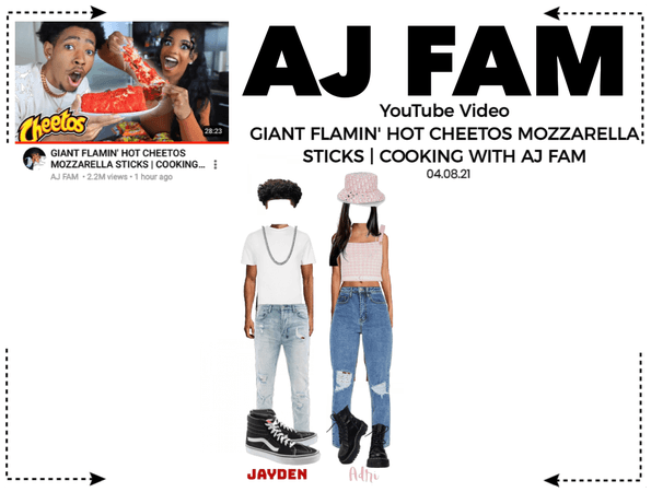 AJ FAM | Cooking With AJ Fam! YouTube Video