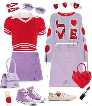 Scarlet & Lavender