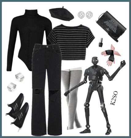 K2SO outfit - Disneybounding - Star Wars - Disney