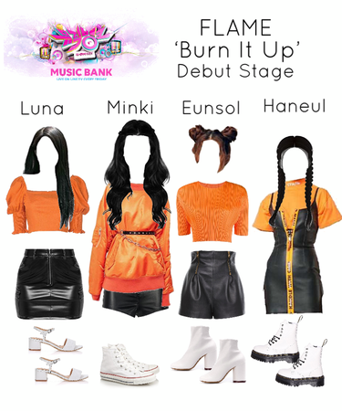 190616 [FLAME] 'Burn It Up' Music Bank