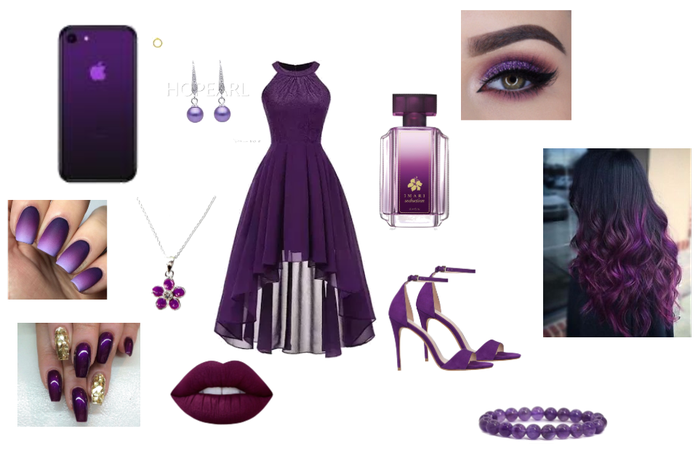 Saturday Purple Outfit