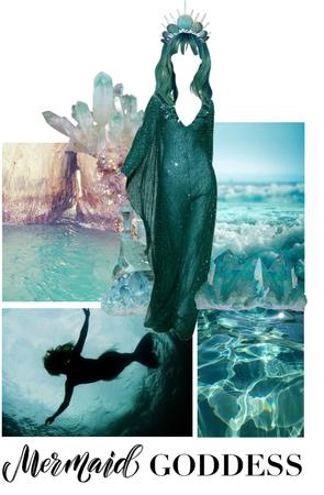 mermaid goddess 🧜🏻♀️