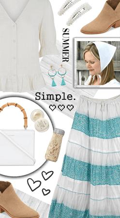 Simple Summer Maxi Skirt