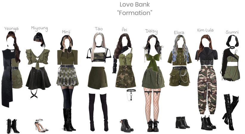 Love Bank's 1st stage win   Formation