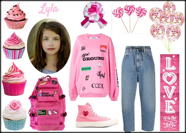 Lyla In Pink