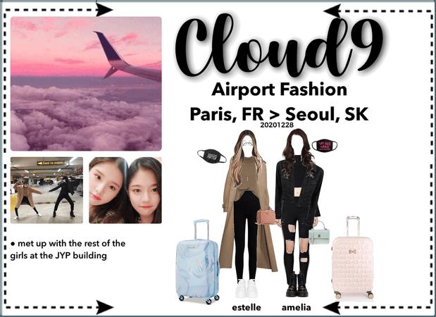 Cloud9 (구름아홉) | Airport Fashion; Paris > Seoul