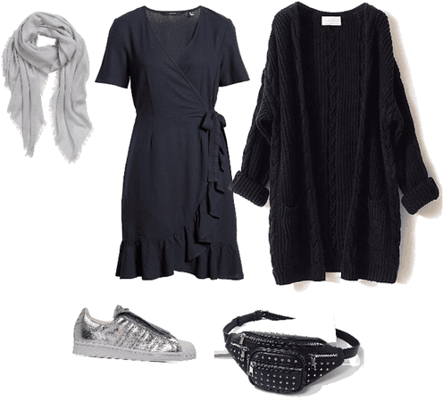Básicos: vestido negro