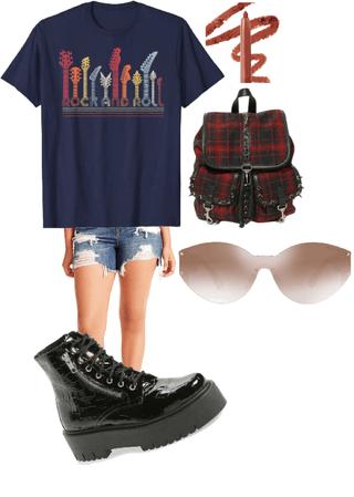 rock school casual