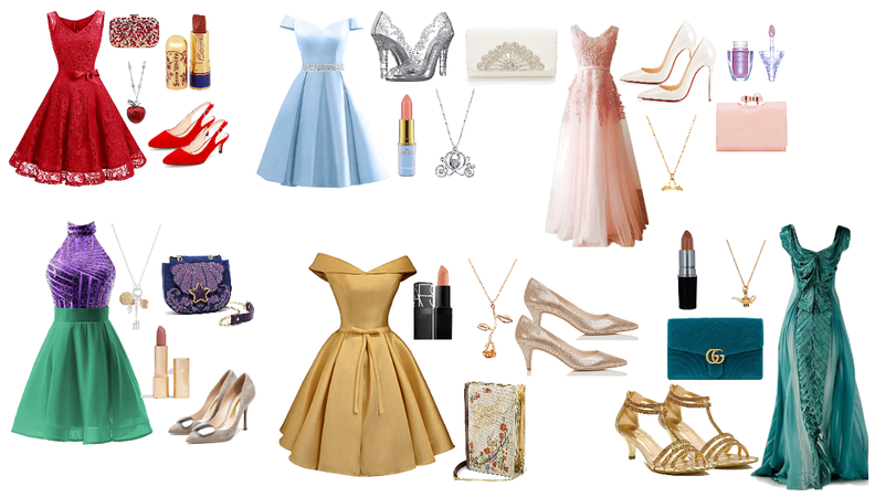 disney princess prom