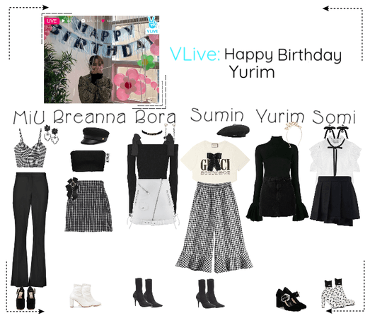 《6mix》VApp Livestream: Happy Birthday Yurim!